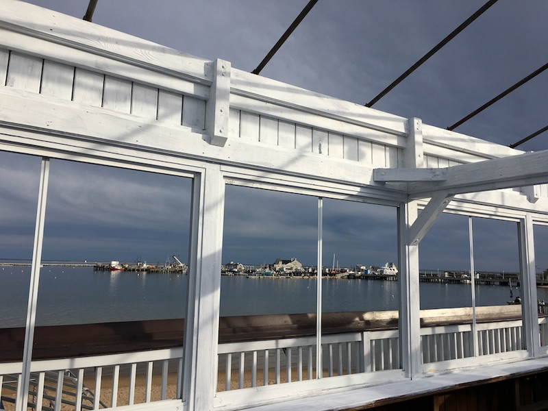 MacMillan Pier beachfront waterfront dining Provincetown Cape Cod